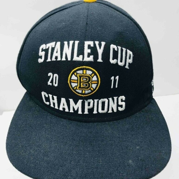 no sale tax really comfortable uk availability Reebok Accessories | Stanley Cup 2011 Boston Bruins Adult Ball Cap ...